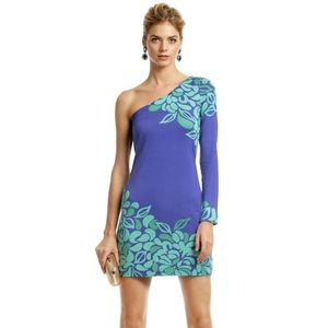 Lilly Pulitzer Whitaker One-Shoulder Knit Dress